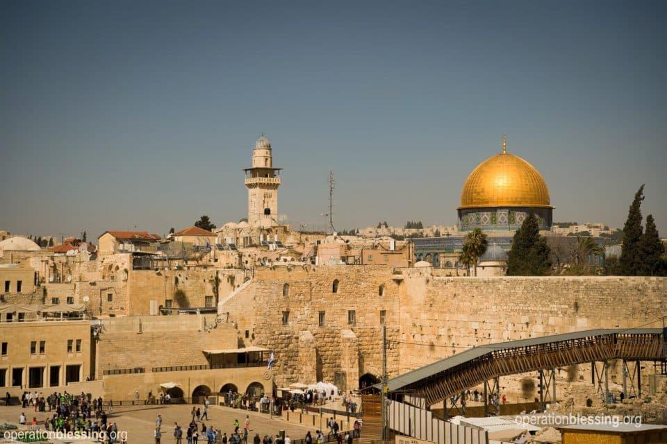 Jerusalem in Israel where Karen visited.