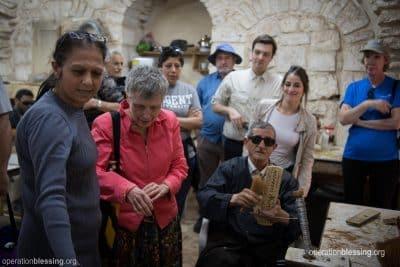 Exceptional Karen at the Arab Blind Association