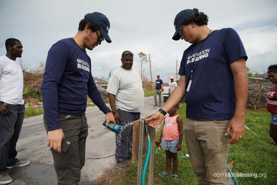 Clean water for the Bahamas.