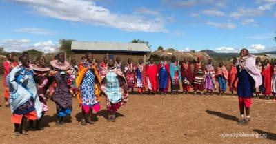 OB friends are transforming this Maasai village in Kenya.