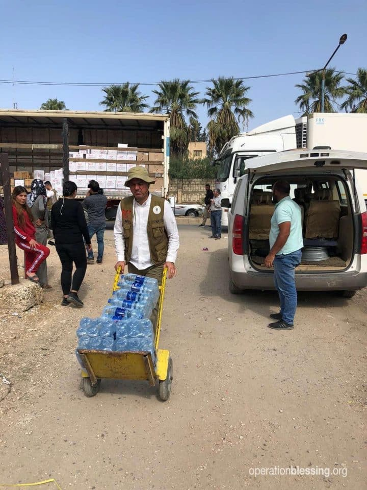 Water for Syrian Refugees.