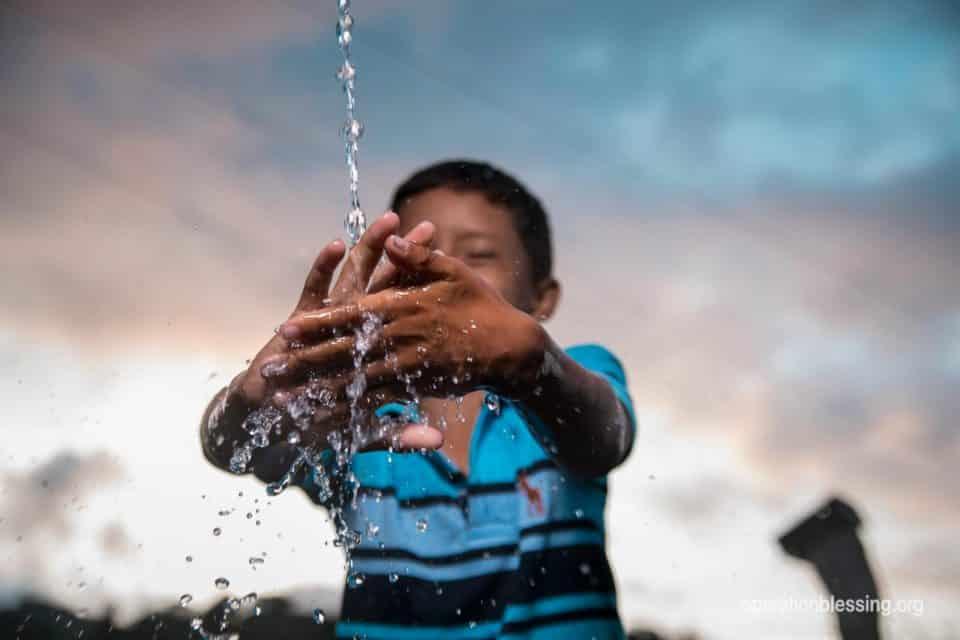 Clean water in Honduras.
