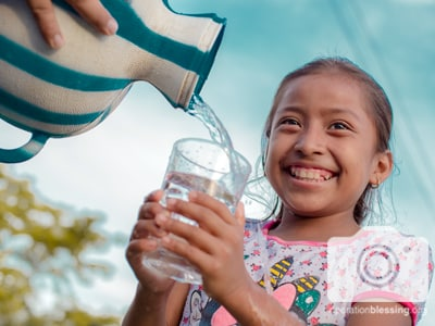 New clean water system for Machaquitas Chiclero