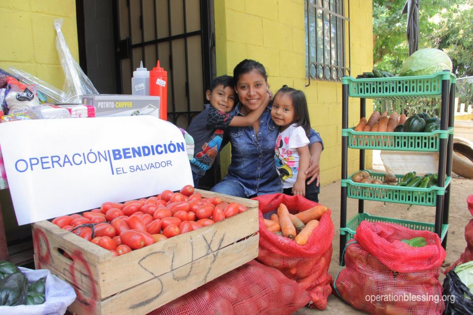Iris's dreams came true with a small store from Operation Blessing partners.