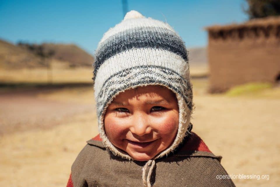 Sweet little Darwin from Peru.