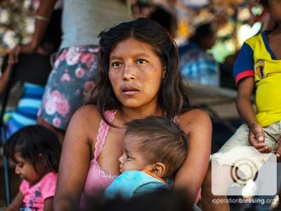 Sending help to Venezuelan Refugees.