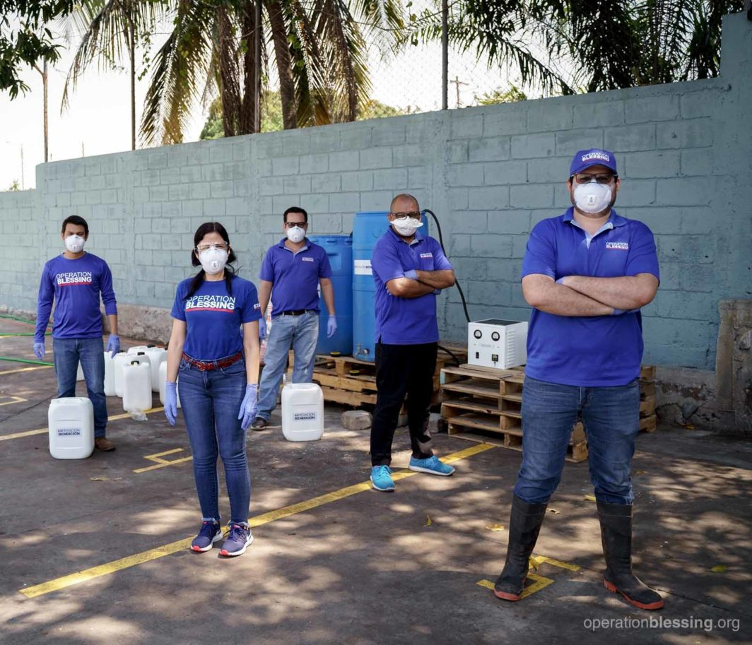 How we are fighting covid-19: standing tough against coronavirus at Operation Blessing in Guatemala and around the world.