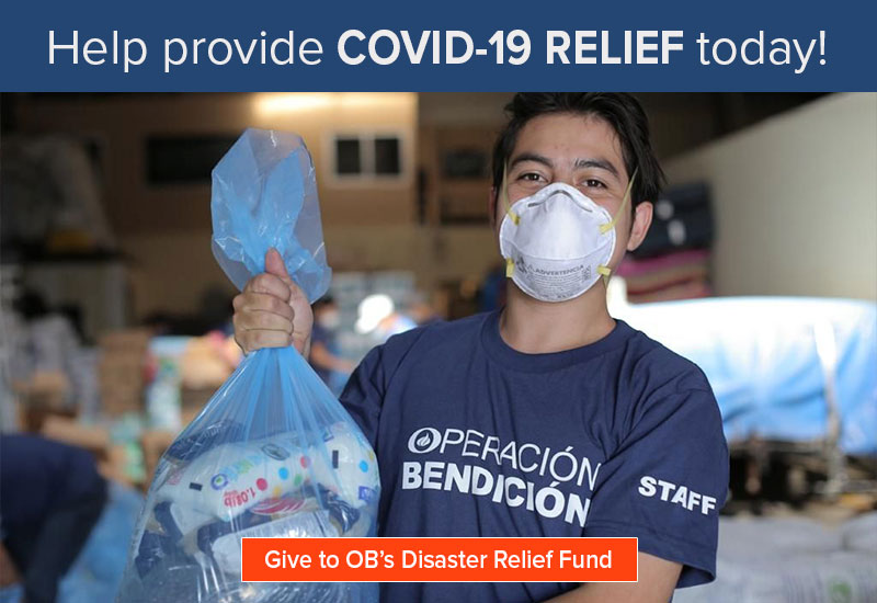 Help provide Covid-19 relief today