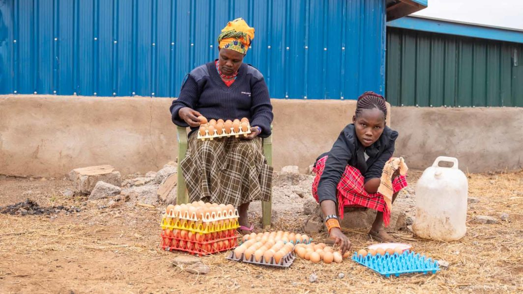 Help mothers end hunger through farming
