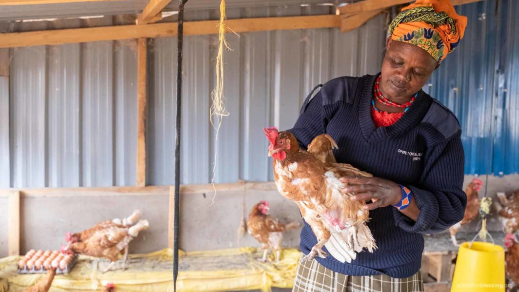 helping mothers through our poultry program