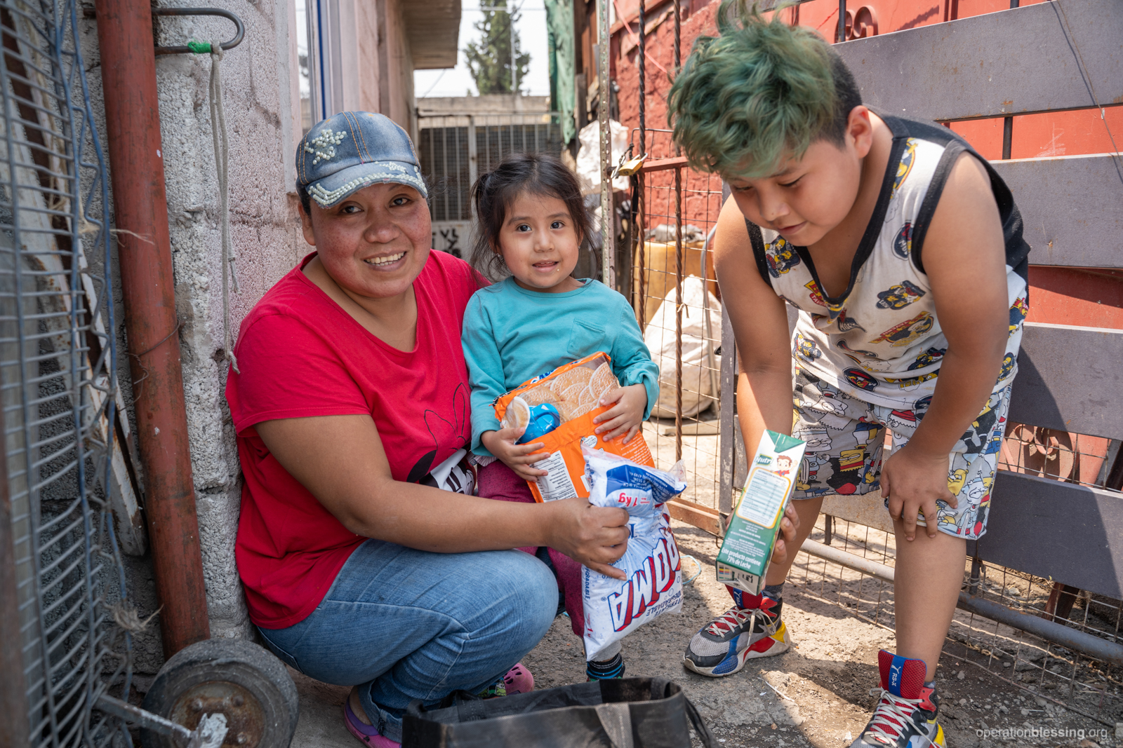 Mother in Mexico was offered hope during the pandemic thanks to friends like you.