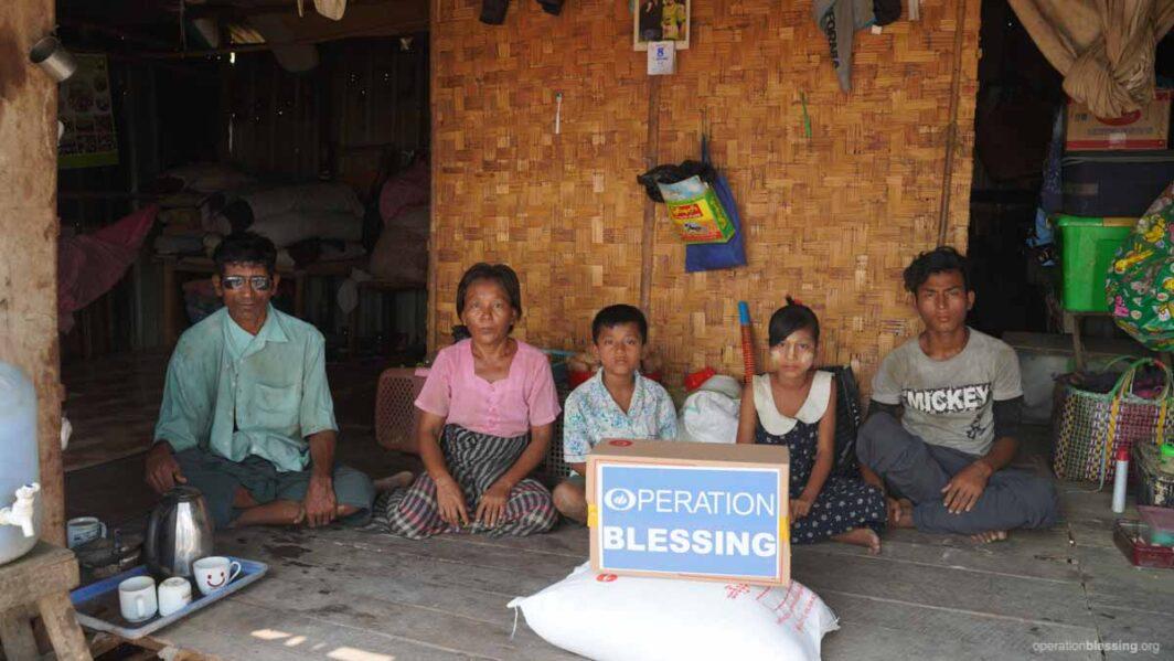 Hunger Relief In Myanmar