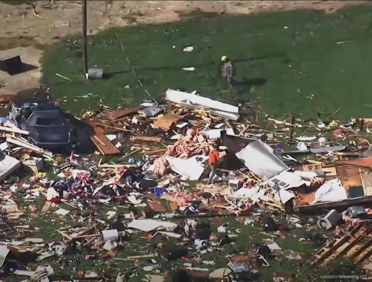 Isaias Tornado damage
