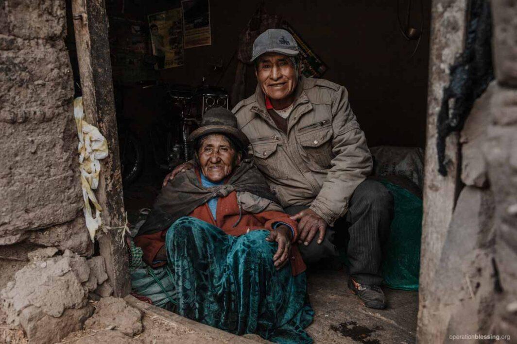 Peruvian women in need of healthcare