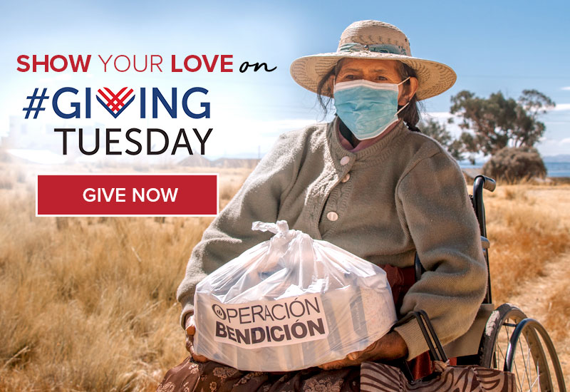 Show your love on Giving Tuesday