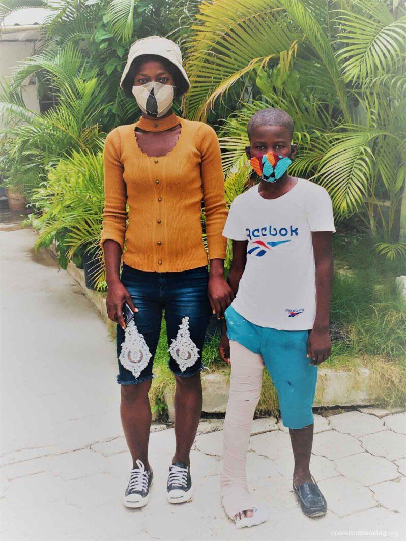 femoral fracture in haiti