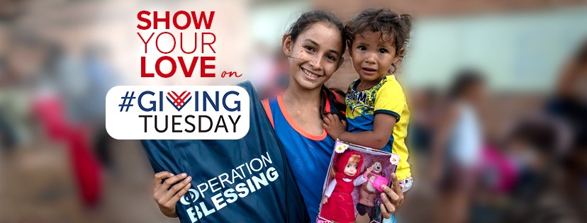 Show your love on #GivingTuesday