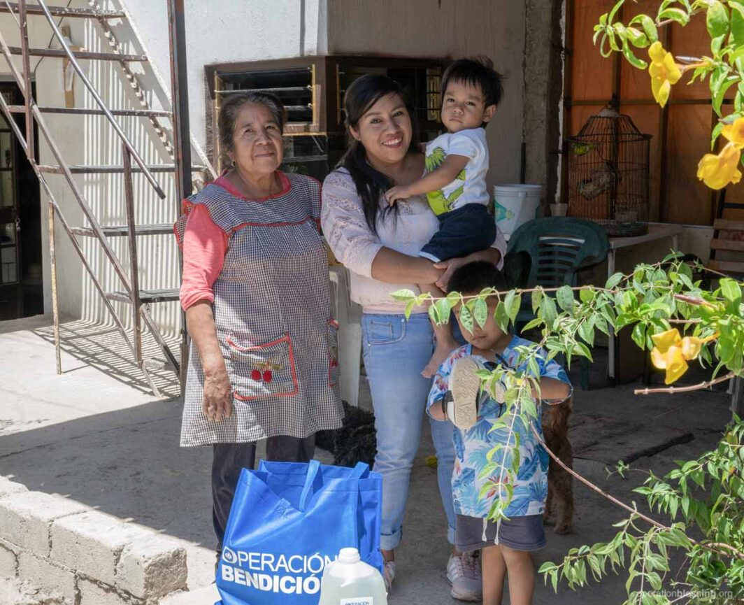 hunger relief and support in mexico