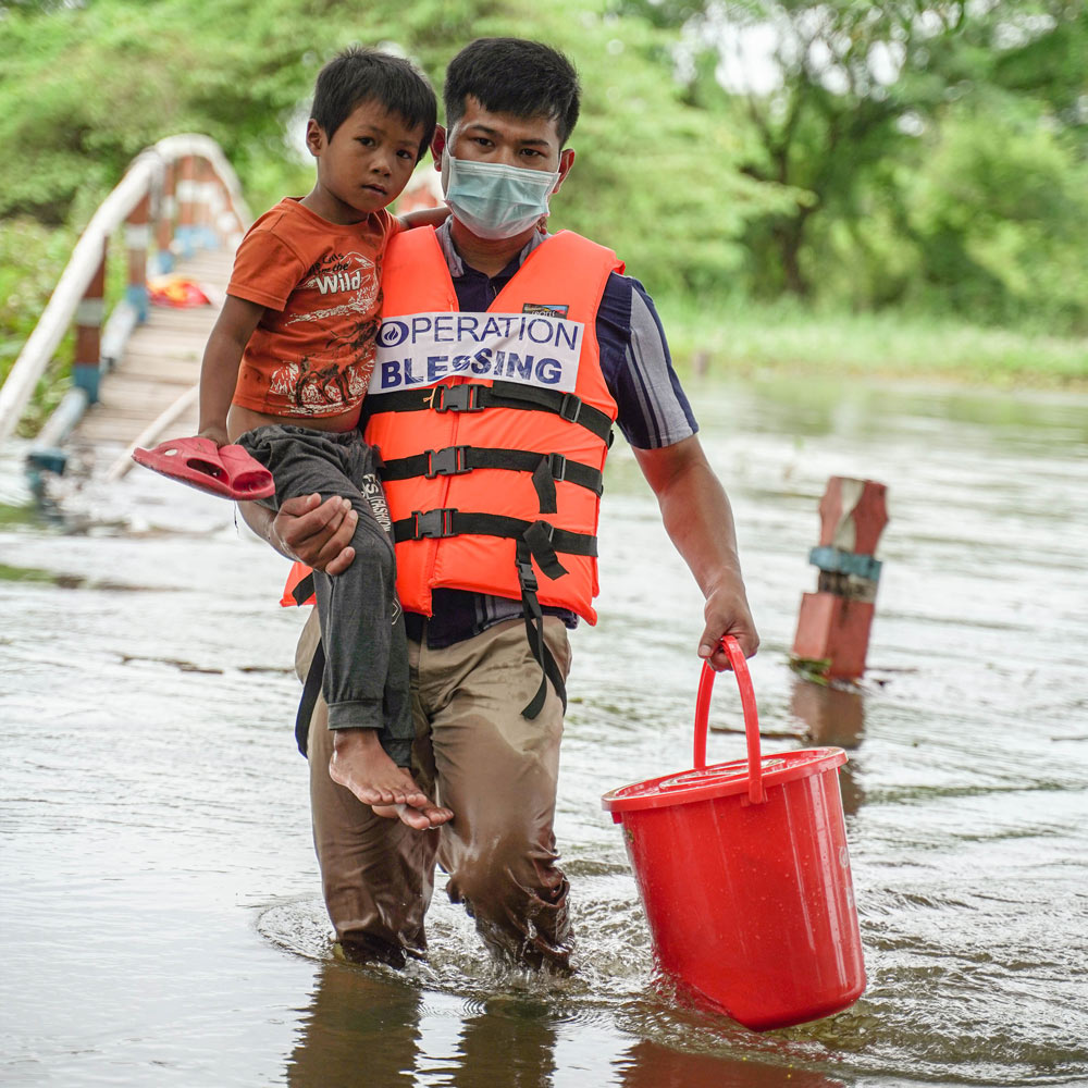 Operation Blessing disaster relief