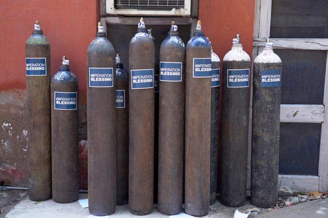 Covid19 Oxygen Tanks For India