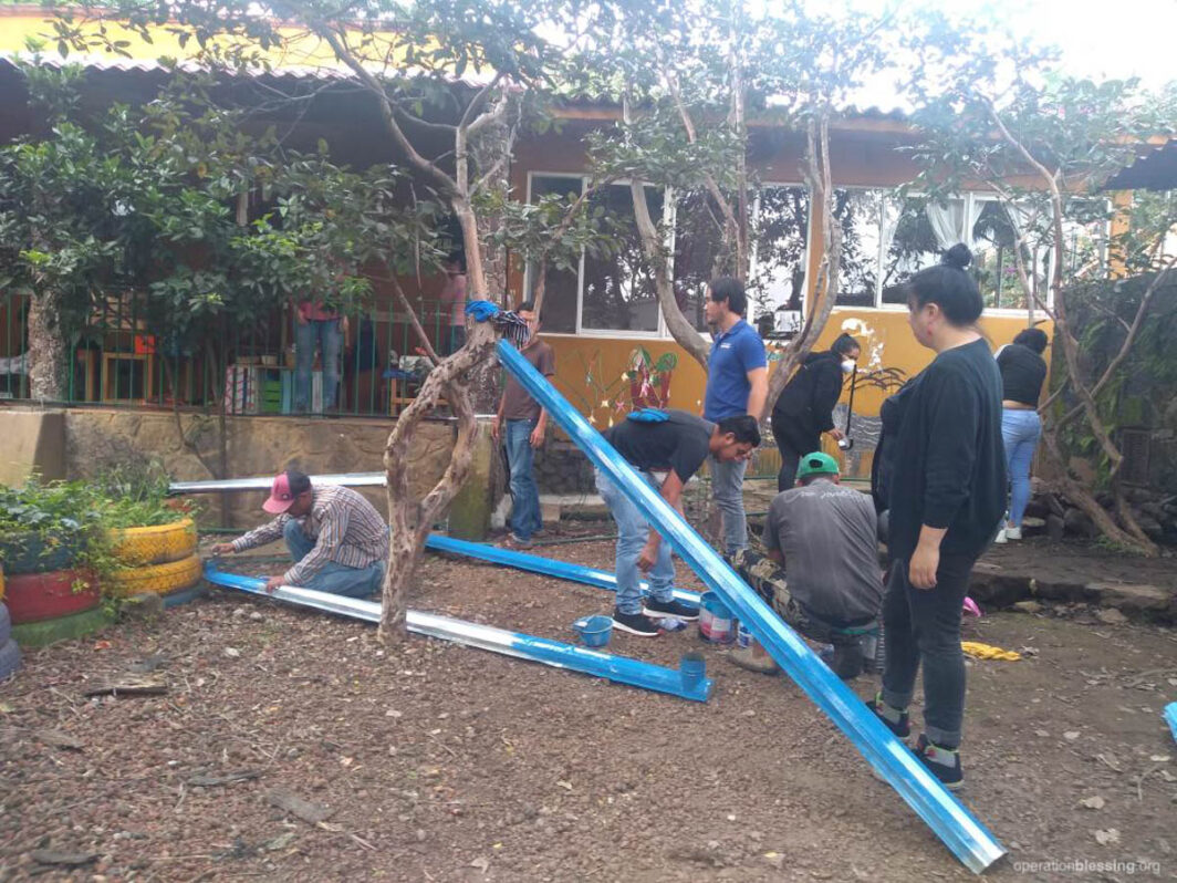 rainwater harvest building
