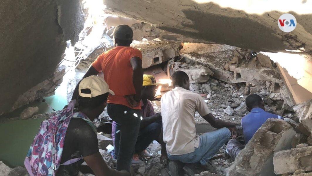 haiti earthquake destruction